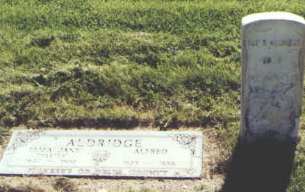 ALDRIDGE, ALFRED - Delta County, Colorado | ALFRED ALDRIDGE - Colorado Gravestone Photos