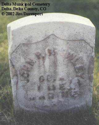 CROWLEY, JOHN P. - Delta County, Colorado | JOHN P. CROWLEY - Colorado Gravestone Photos