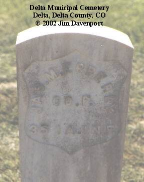 EPPERLY, JAS M. - Delta County, Colorado | JAS M. EPPERLY - Colorado Gravestone Photos