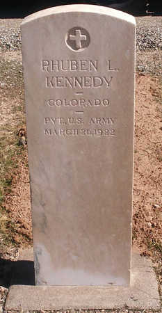 KENNEDY, RHUBEN L. - Delta County, Colorado   RHUBEN L. KENNEDY - Colorado Gravestone Photos
