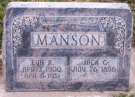 MANSON, JACK G. - Delta County, Colorado | JACK G. MANSON - Colorado Gravestone Photos