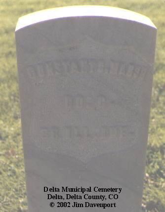 MARSH, CONSTANT C. - Delta County, Colorado | CONSTANT C. MARSH - Colorado Gravestone Photos