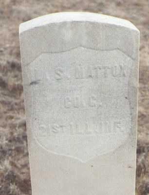 MATTOX, L. S. - Delta County, Colorado | L. S. MATTOX - Colorado Gravestone Photos