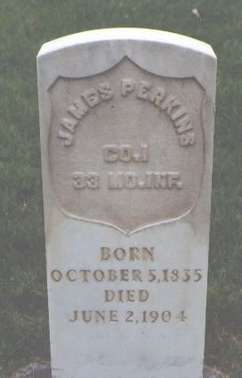 PERKINS, JAMES - Delta County, Colorado | JAMES PERKINS - Colorado Gravestone Photos