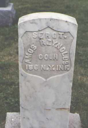 REYNOLDS, AMOS - Delta County, Colorado | AMOS REYNOLDS - Colorado Gravestone Photos