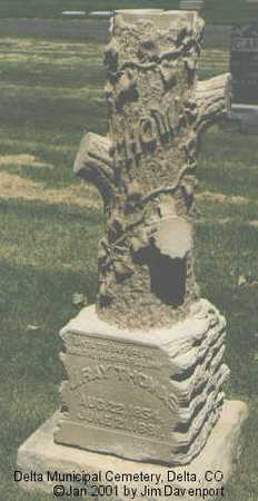THOMAS, J. RAY - Delta County, Colorado | J. RAY THOMAS - Colorado Gravestone Photos