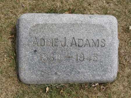 ADAMS, ADDIE J - Denver County, Colorado | ADDIE J ADAMS - Colorado Gravestone Photos