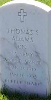 ADAMS, THOMAS S - Denver County, Colorado | THOMAS S ADAMS - Colorado Gravestone Photos