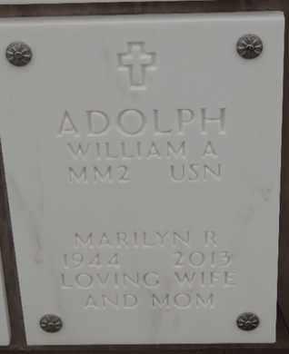 ADOLPH, MARILYN R - Denver County, Colorado   MARILYN R ADOLPH - Colorado Gravestone Photos