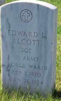 ALCOTT, EDWARD L - Denver County, Colorado | EDWARD L ALCOTT - Colorado Gravestone Photos