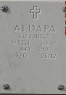 ALDAPA, GEORGE - Denver County, Colorado | GEORGE ALDAPA - Colorado Gravestone Photos