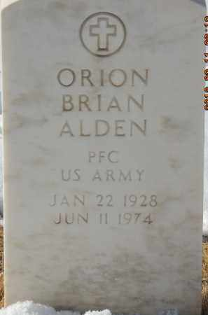 ALDEN, ORION BRIAN - Denver County, Colorado | ORION BRIAN ALDEN - Colorado Gravestone Photos