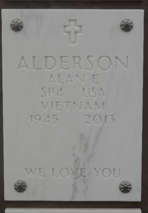 ALDERSON, ALAN E - Denver County, Colorado   ALAN E ALDERSON - Colorado Gravestone Photos