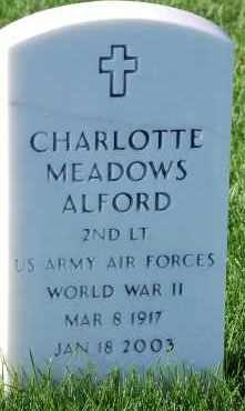 ALFORD, CHARLOTTE - Denver County, Colorado | CHARLOTTE ALFORD - Colorado Gravestone Photos