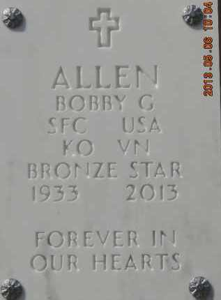 ALLEN, BOBBY G - Denver County, Colorado | BOBBY G ALLEN - Colorado Gravestone Photos