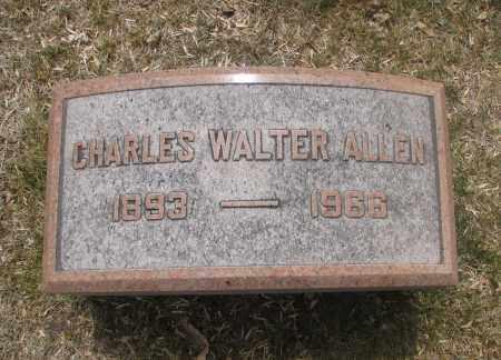 ALLEN, CHARLES WALTER - Denver County, Colorado | CHARLES WALTER ALLEN - Colorado Gravestone Photos