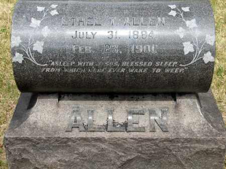 ALLEN, ETHEL T. - Denver County, Colorado | ETHEL T. ALLEN - Colorado Gravestone Photos