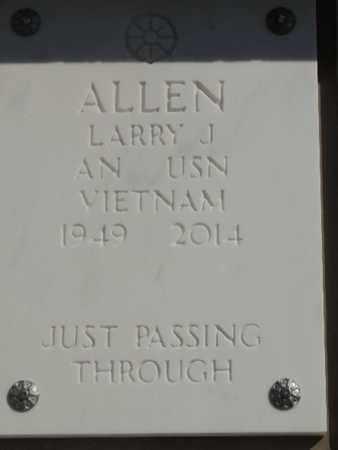 ALLEN, LARRY J - Denver County, Colorado | LARRY J ALLEN - Colorado Gravestone Photos