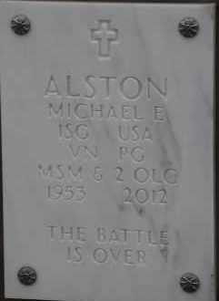 ALSTON, MICHAEL E - Denver County, Colorado | MICHAEL E ALSTON - Colorado Gravestone Photos