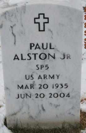 ALSTON, PAUL, JR - Denver County, Colorado | PAUL, JR ALSTON - Colorado Gravestone Photos