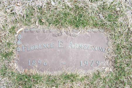 ARMSTRONG, FLORENCE ERMA - Denver County, Colorado | FLORENCE ERMA ARMSTRONG - Colorado Gravestone Photos