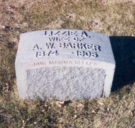 ACKERMAN BARKER, LIZZIE - Denver County, Colorado | LIZZIE ACKERMAN BARKER - Colorado Gravestone Photos