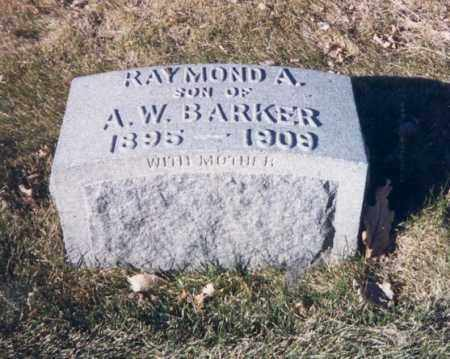 BARKER, RAYMOND A. - Denver County, Colorado | RAYMOND A. BARKER - Colorado Gravestone Photos