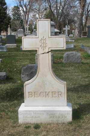 BECKER, CHARLES MORRIS - Denver County, Colorado | CHARLES MORRIS BECKER - Colorado Gravestone Photos