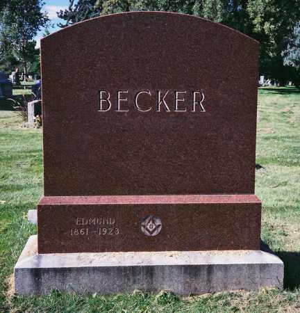 BECKER, EDMUND - Denver County, Colorado | EDMUND BECKER - Colorado Gravestone Photos