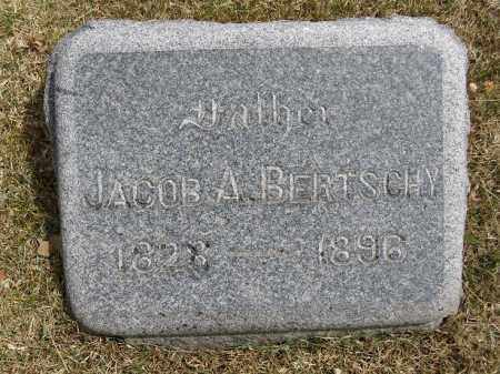 BERTSCHY, JACOB A - Denver County, Colorado | JACOB A BERTSCHY - Colorado Gravestone Photos