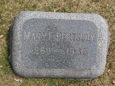 BERTSCHY, MARY F - Denver County, Colorado | MARY F BERTSCHY - Colorado Gravestone Photos