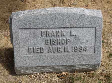BISHOP, FRANK L - Denver County, Colorado | FRANK L BISHOP - Colorado Gravestone Photos
