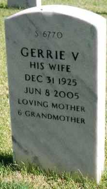 BOOK, GERRIE V - Denver County, Colorado   GERRIE V BOOK - Colorado Gravestone Photos