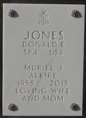 ALKIRE JONES, MURIEL J - Denver County, Colorado | MURIEL J ALKIRE JONES - Colorado Gravestone Photos
