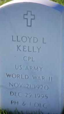 KELLY, LLOYD L - Denver County, Colorado | LLOYD L KELLY - Colorado Gravestone Photos