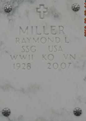 MILLER, RAYMOND L - Denver County, Colorado | RAYMOND L MILLER - Colorado Gravestone Photos