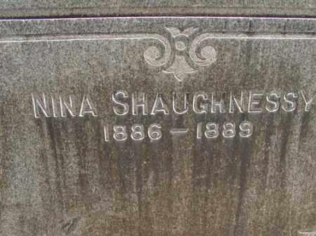 SHAUGHNESSY, NINA - Denver County, Colorado | NINA SHAUGHNESSY - Colorado Gravestone Photos