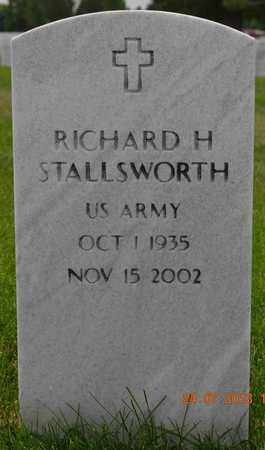 STALLSWORTH, RICHARD H. - Denver County, Colorado | RICHARD H. STALLSWORTH - Colorado Gravestone Photos