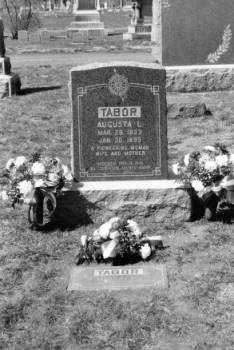 TABOR, AUGUSTA LOUISE - Denver County, Colorado | AUGUSTA LOUISE TABOR - Colorado Gravestone Photos