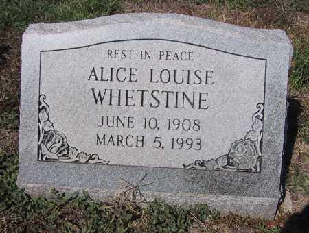 MITCHELL WHETSTINE, ALICE LOUISE - Denver County, Colorado | ALICE LOUISE MITCHELL WHETSTINE - Colorado Gravestone Photos