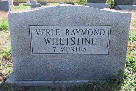 WHETSTINE, VERLE RAYMOND - Denver County, Colorado | VERLE RAYMOND WHETSTINE - Colorado Gravestone Photos