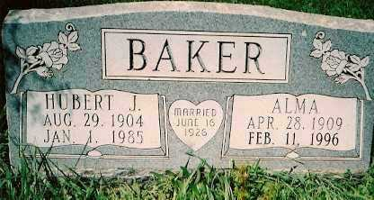 BAKER, HUBERT J. - Dolores County, Colorado | HUBERT J. BAKER - Colorado Gravestone Photos