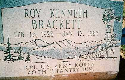 BRACKETT, ROY KENNETH - Dolores County, Colorado   ROY KENNETH BRACKETT - Colorado Gravestone Photos
