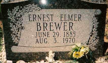 BREWER, ERNEST ELMER - Dolores County, Colorado | ERNEST ELMER BREWER - Colorado Gravestone Photos