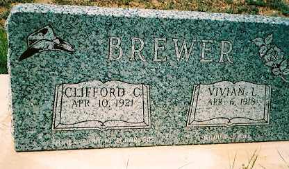 BREWER, VIVIAN LORENE - Dolores County, Colorado | VIVIAN LORENE BREWER - Colorado Gravestone Photos