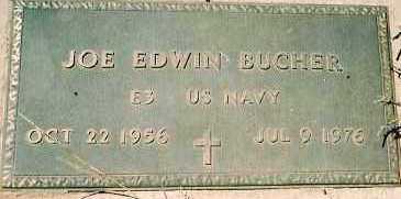 BUCHER, JOE EDWIN - Dolores County, Colorado | JOE EDWIN BUCHER - Colorado Gravestone Photos