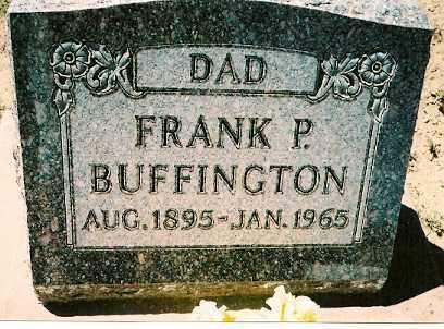 BUFFINGTON, FRANK P. - Dolores County, Colorado | FRANK P. BUFFINGTON - Colorado Gravestone Photos