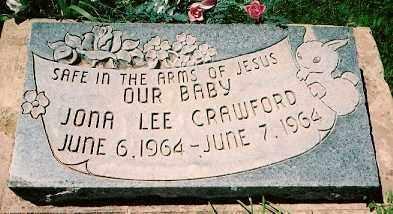 CRAWFORD, JONA LEE - Dolores County, Colorado | JONA LEE CRAWFORD - Colorado Gravestone Photos