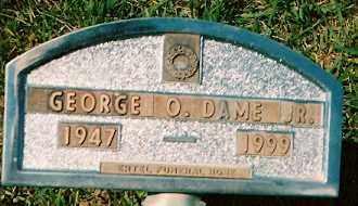 DAME, GEORGE O. JR. - Dolores County, Colorado | GEORGE O. JR. DAME - Colorado Gravestone Photos