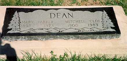 "DEAN, MITCHELL CLOE ""M C"" - Dolores County, Colorado 